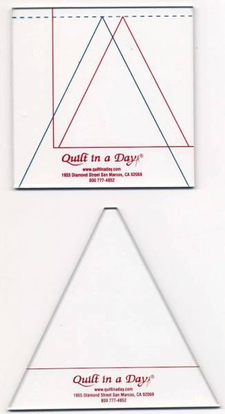 Quilt in a Day Triangle in a Square Lineal